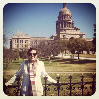 Caroline at the Capitol